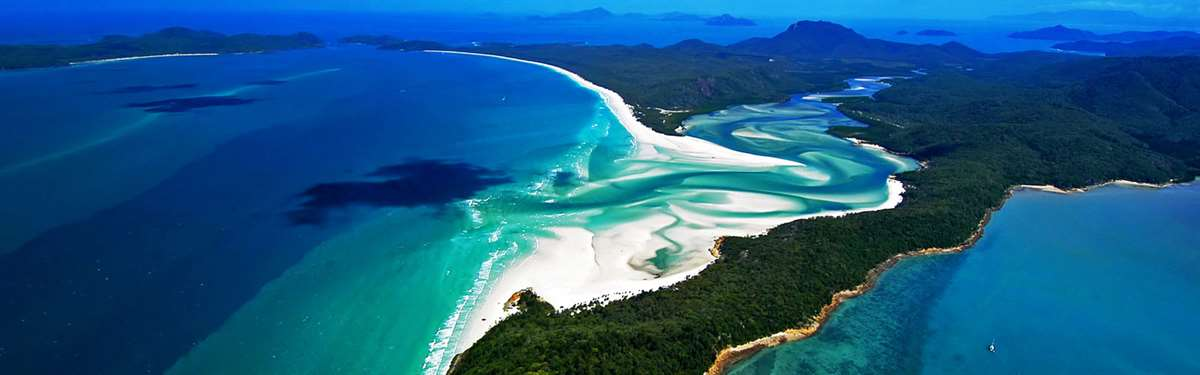 The Whitsundays and the Great Barrier Reef